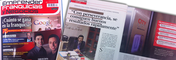 entrevista en revista franquicias y negocios