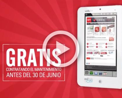 video promocion mantenimiento tablet