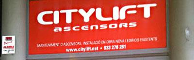 fachada citylift barcelona