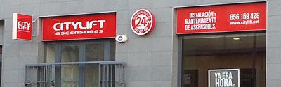 fachada citylift cadiz