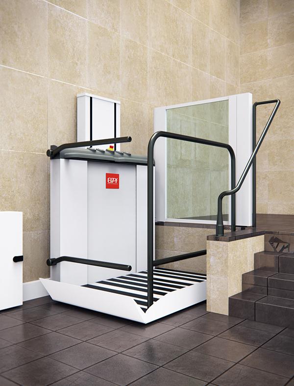 Soluciones de accesibilidad citylift ascensores for Salvaescaleras vertical
