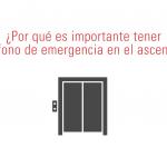 telefono emergencia ascensor