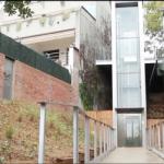 Instalación ascensor en barrio Vista Alegre