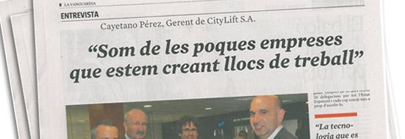 entrevista a Cayetano Perez La Vanguardia