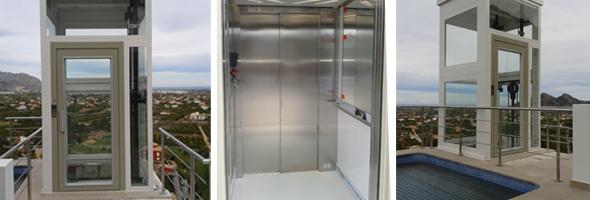 instalacion plataforma elevadora en pedreguer