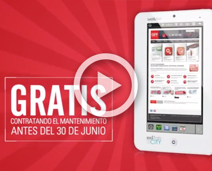 video promocion mantenimiento tablet