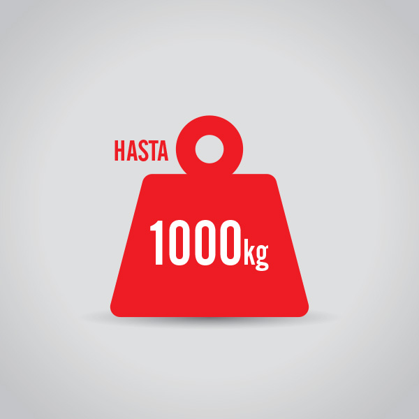 montacargas hasta 1000 kg