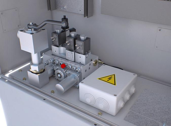 central hidraulica ascensor