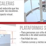 plataformas vs. sillas salvaescaleras