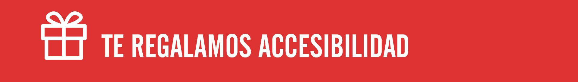 campaña regalamos accesibilidad