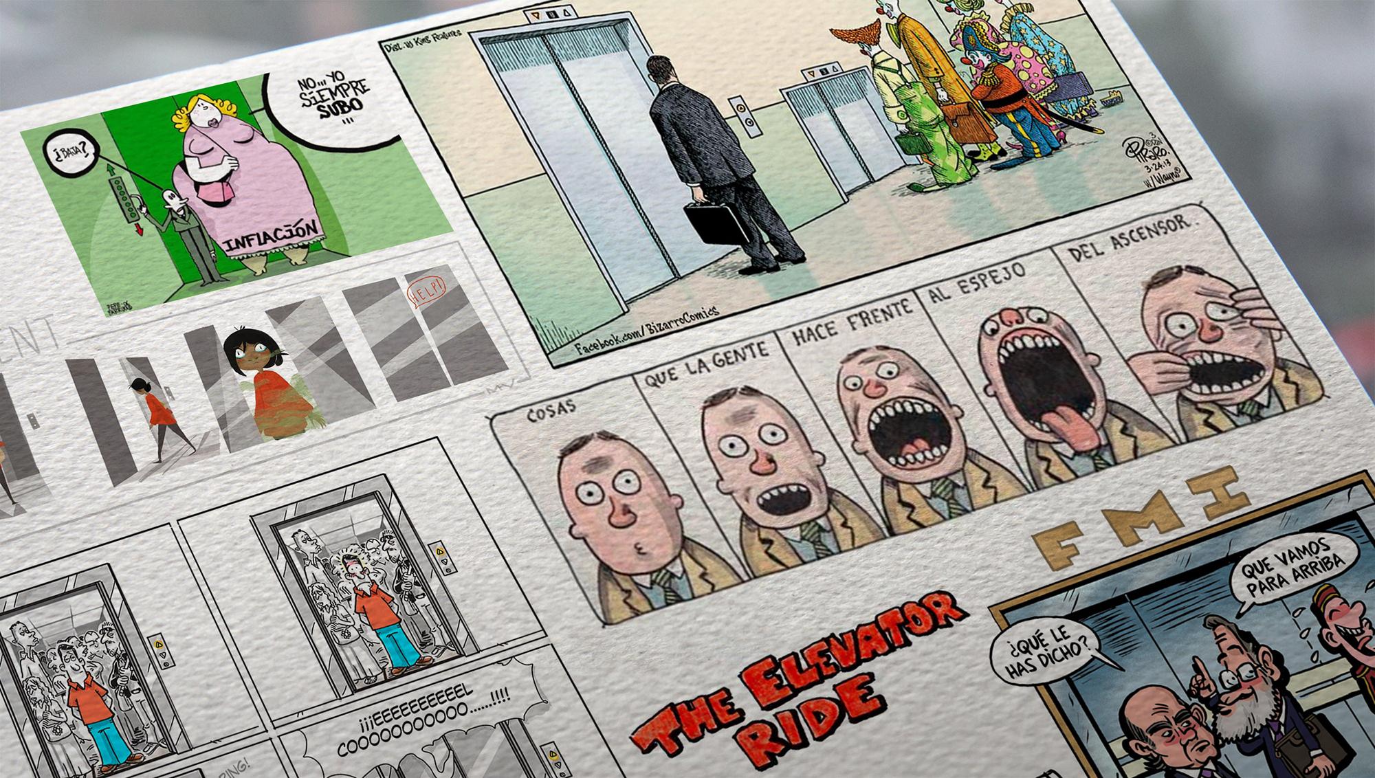 viñetas ascensores